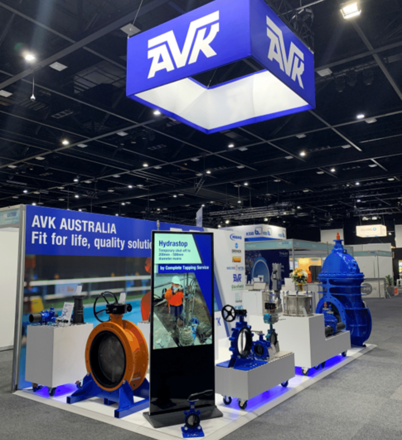 Ozwater 21 Exhibition Full Stand