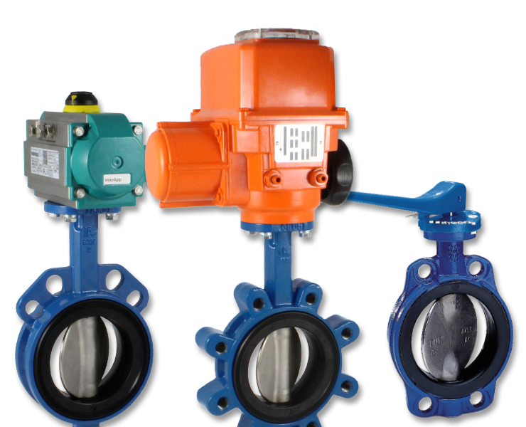 Wastewater butterfly valves