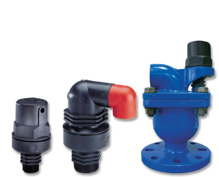 Water air valves